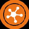 Erkennt SNMP-Geräte wie Drucker, Router und Switches und virtualisiert die Netzwerktopologie